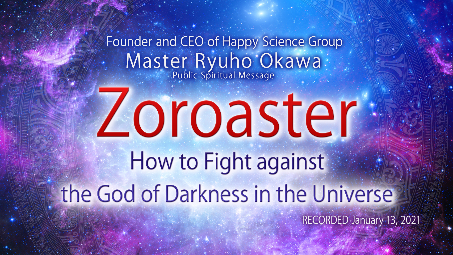 zoroaster-how to fight against god of darkness